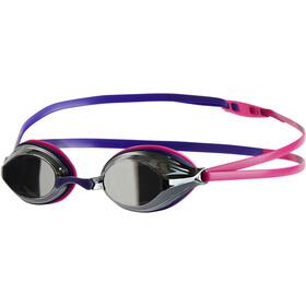 speedo Vengeance Mirror Goggles Unisex, ecstatic pink/violet/silver